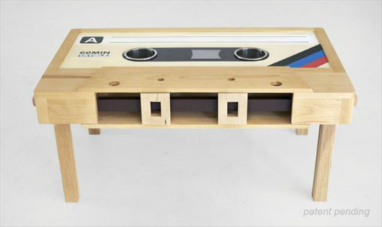 Cassette-Coffee-Table
